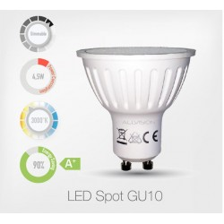 LED Spot GU10 Dimmable 3000K