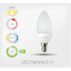 LED Flamme E14 4,5W 3000K