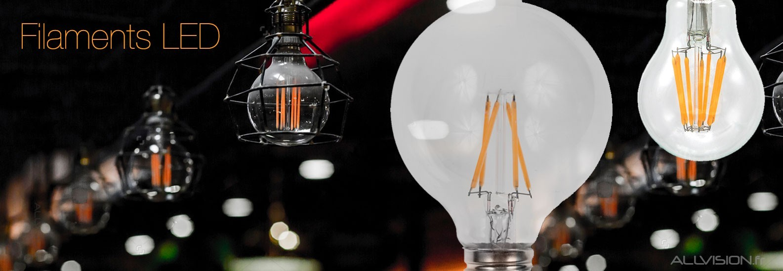 Filaments LED